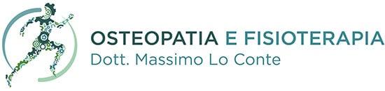 LOGO MASSIMO LO CONTE OSTEOPATA E FISIOTERAPIA
